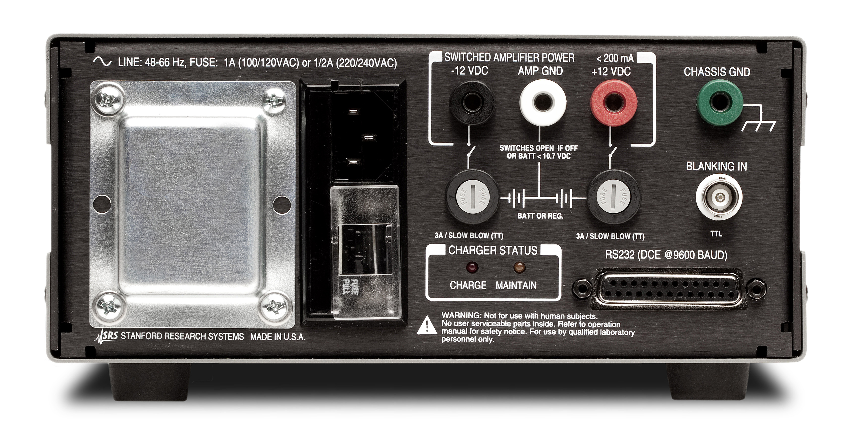 Low Noise Voltage Preamplifier Sr560